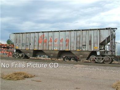 No Frillls Cd Hopper Cars