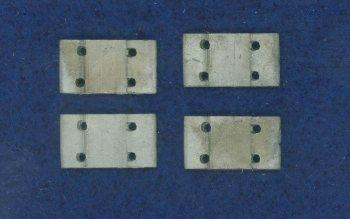 Tie plates for code 250 rail - 100 per pack