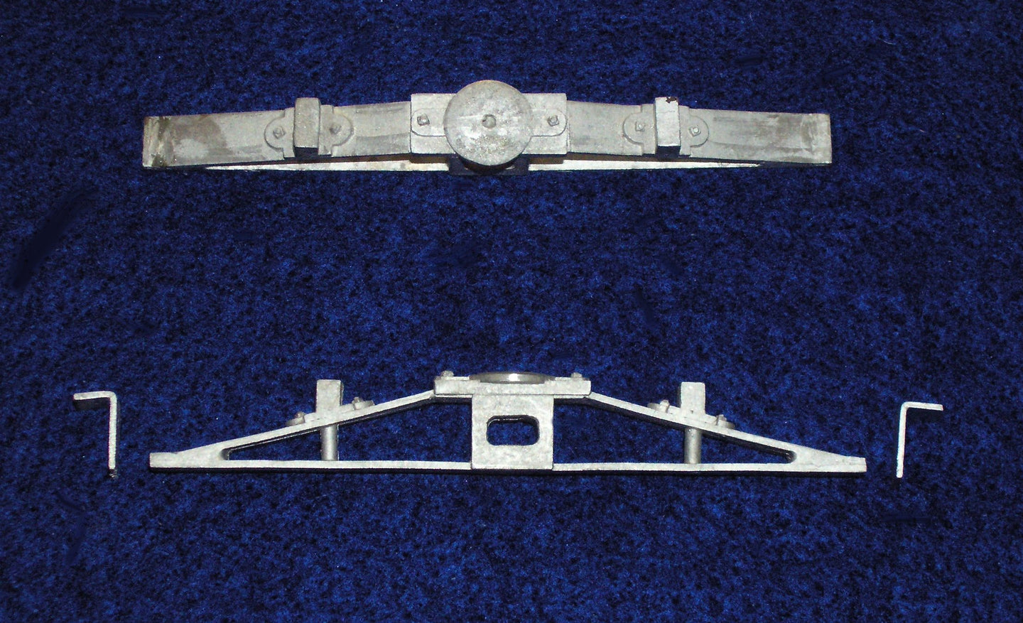 DRGW bolster set for flat cars and cabooses.