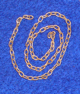 Chain - 7 links per inch - 1 foot length