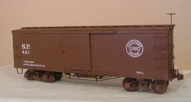 SP NG 28ft Boxcar Complete