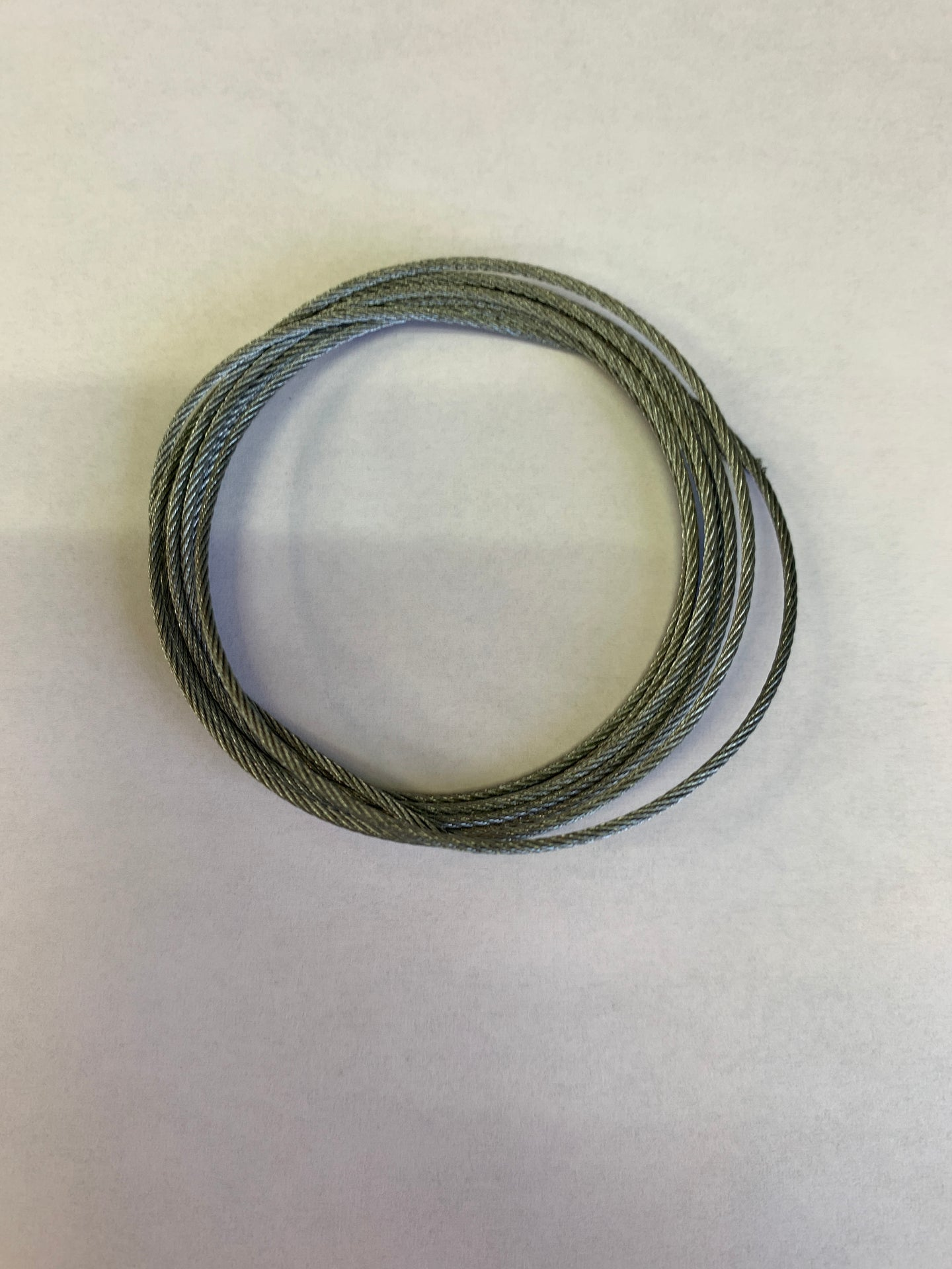 metal cable, stranded (.049 in diameter)  5 ft