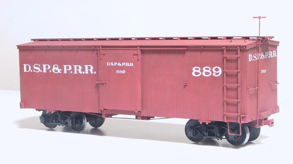 DSP&P 27 FT. Boxcar