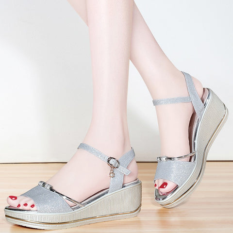 Summer New Fashion Shoes Women Sandals Sexy Party Wedges