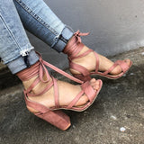 Cross-border supply models summer  strap sandals large size women's shoes