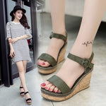 Women Super High Sandals 2019 Summer Platform Shoes Woman Gladiator