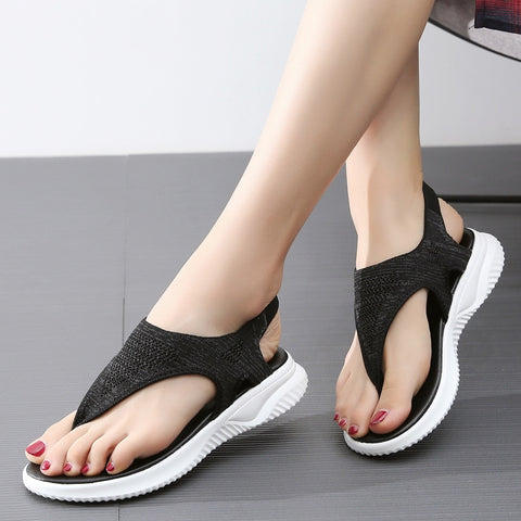 2019 New Female Shoes Woman Summer Wedge Comfortable Sandals Ladies
