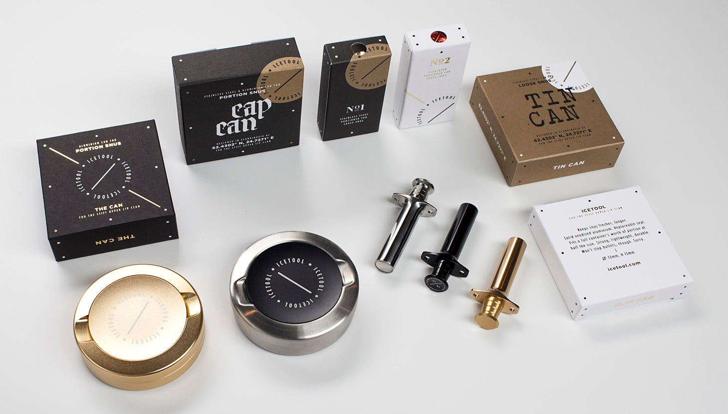 Icetool snus accessories