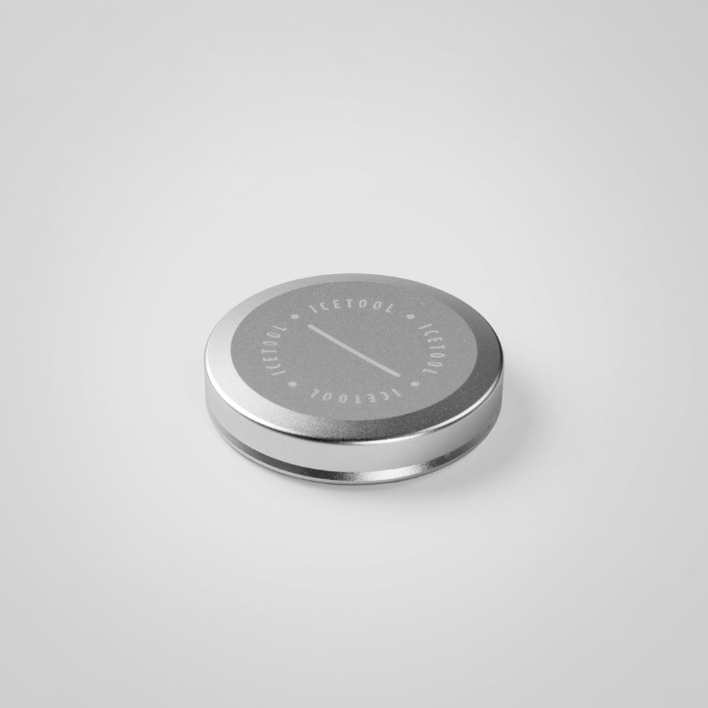 Icetool Mini Can container for nasal snus - Silver colour. A perfect container for nasal snus and snuff.