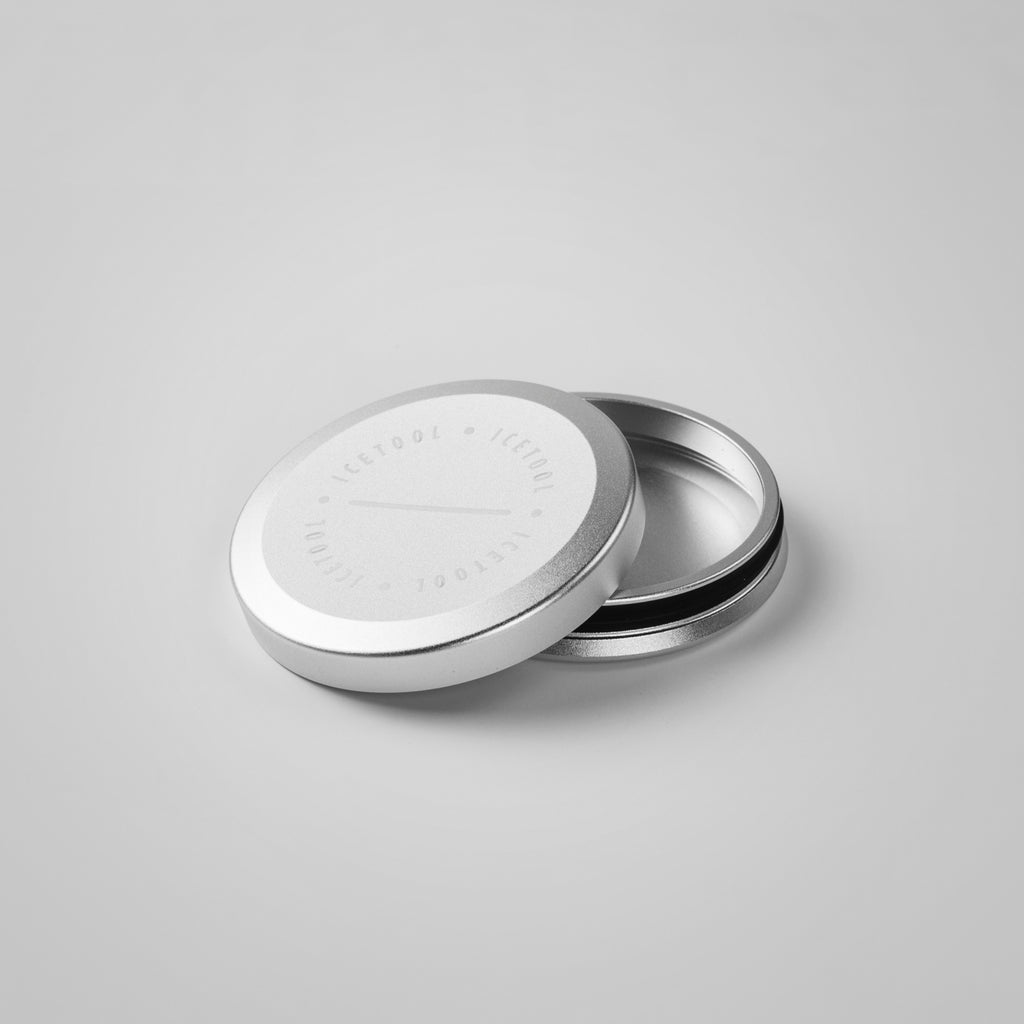 Mini Can for nasal snus - Silver - aluminium