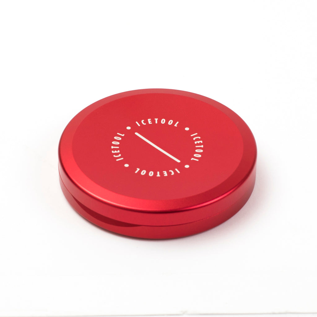 Slim Can for portion snus - Red Rules - aluminium