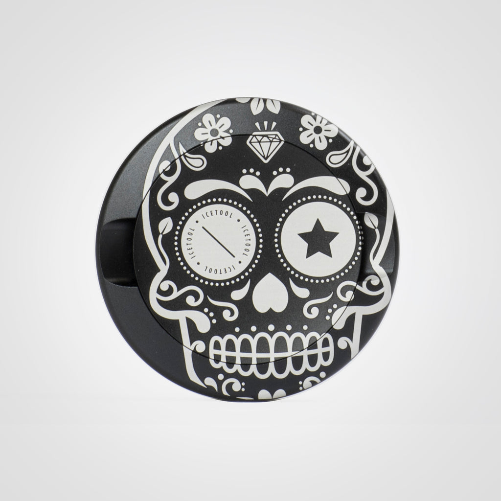 The Can - Black Sugar Skull - aluminium