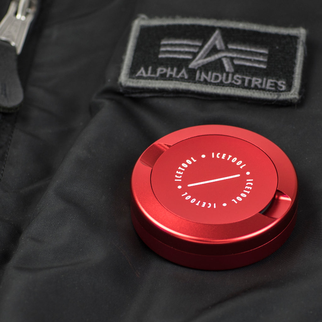 The Can for portion snus - Red Rules - aluminum