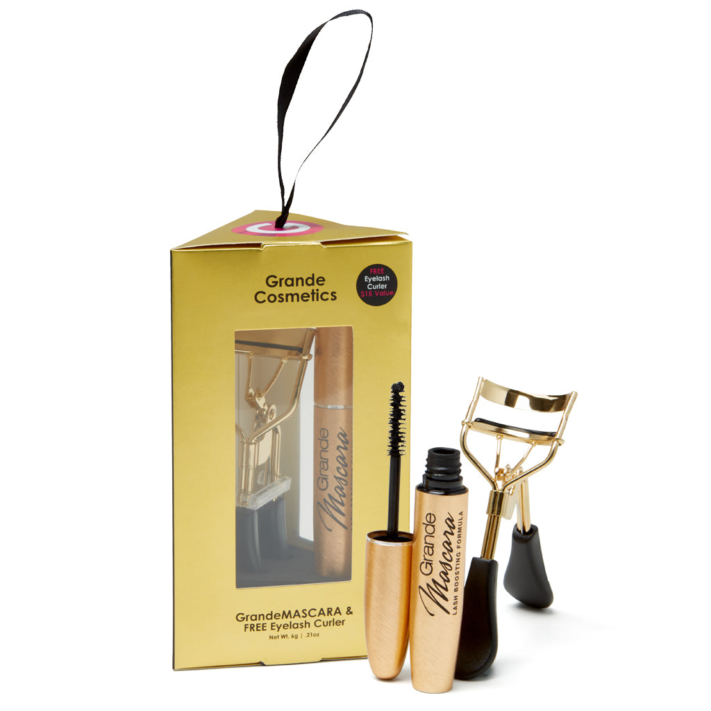 Limited Edition GrandeMASCARA + FREE Curler Ornament
