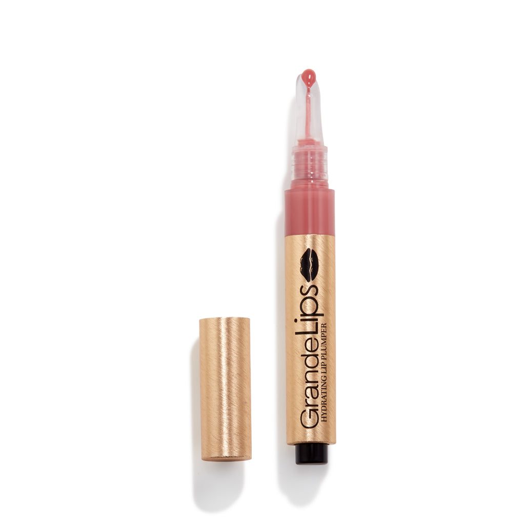 Travel Size GrandeLIPS Hydrating Lip Plumper, Gloss, Spicy Mauve
