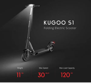 KUGOO S1 Electric Scooter 30km range