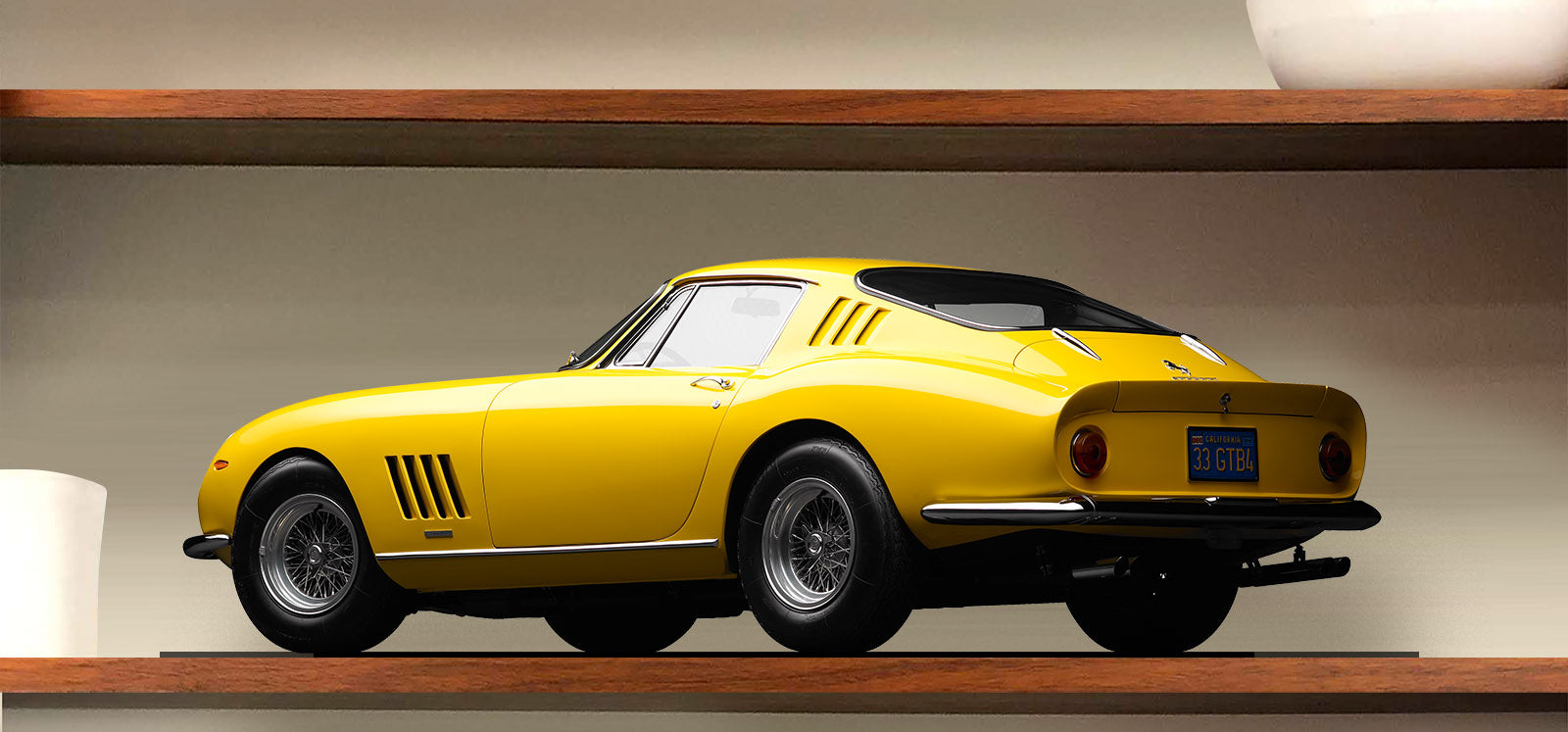MotoMirage™ Limited Edition 1968 Ferrari 275 GTB4 by Michael Furman