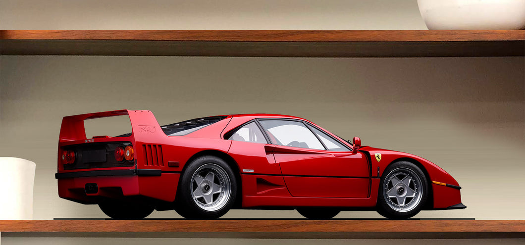 MotoMirage™ Limited Edition 1990 Ferrari F40 by Michael Furman