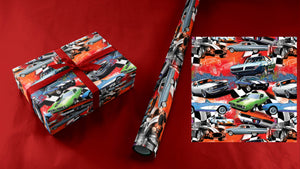 American Muscle Cars Wrapping Paper
