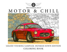 Motor and Chill: Hunker Down Edition Free Downloadable Coloring Book