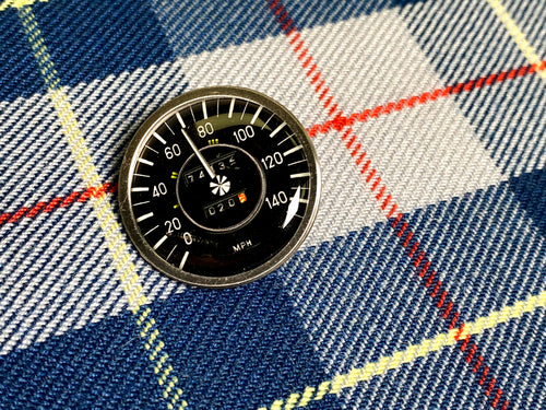 Legendary Dials Mercedes Speedometer Pin