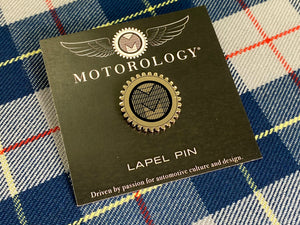 Motorology M-Gear Logo Pin