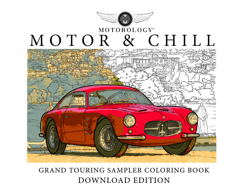 Motor and Chill Coloring: Full Download Edition