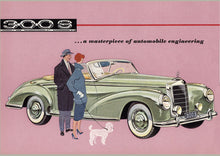 1950s Classic Mercedes Brochure 1000 pc.  Jigsaw Puzzle