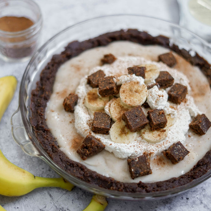 Vegan Banana Coconut Cream Pie