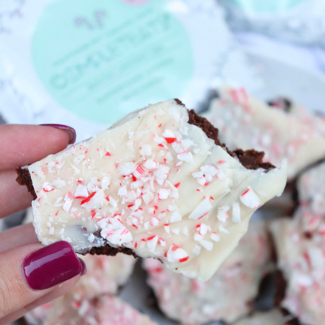 CompletEats Peppermint Cacao Bark