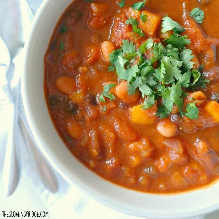 Healthy Pumpkin Chili