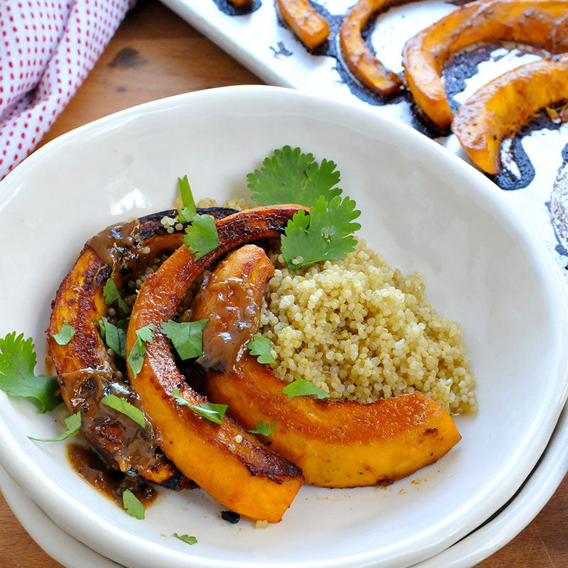 Roasted Miso-Glazed Pumpkin