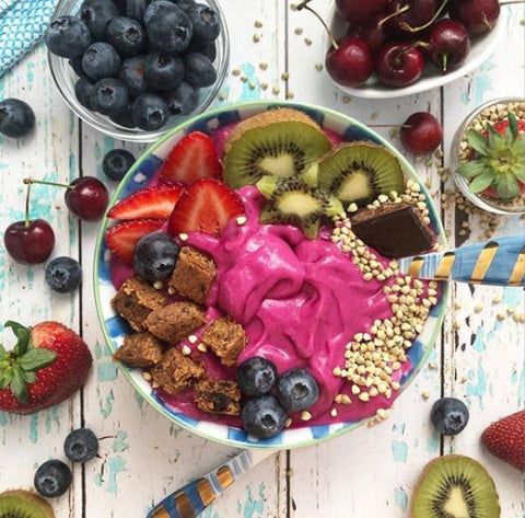 Strawberry Lime Smoothie Bowl