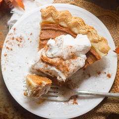 Chai Sweet Potato pie