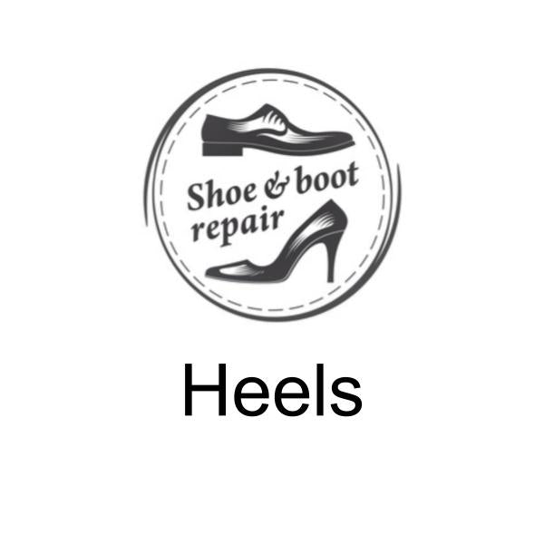 Heel repairs and replacements