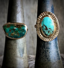 turquoise moonrise ring