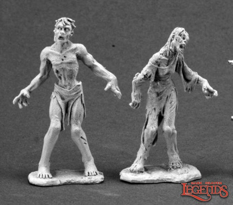 Reaper 03598: George & Gracie, Zombies (2)