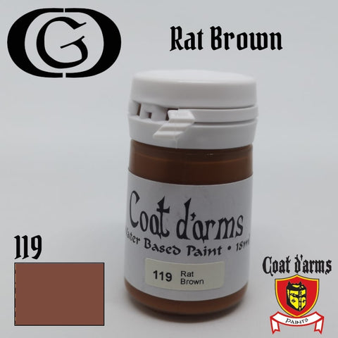 119 Rat Brown