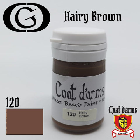 120 Hairy Brown