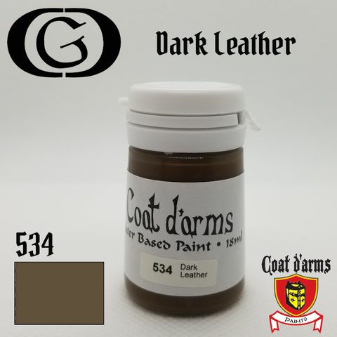534 Dark Leather