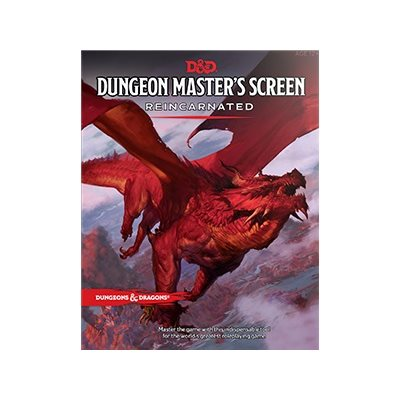 Dungeon Masters Screen: Reincarnated
