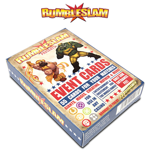 Rumbleslam - Event Cards