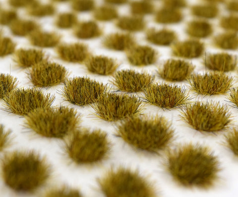 Patchy 4mm Grass Tufts (100)