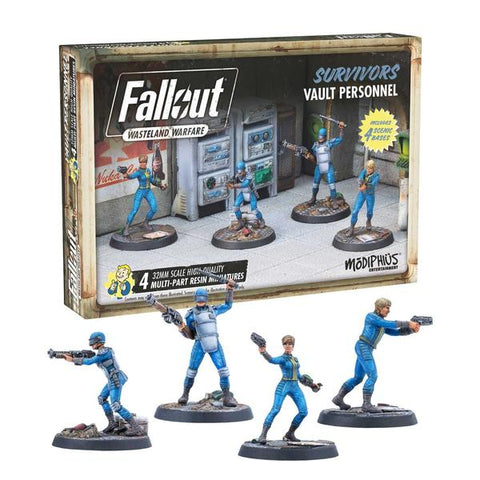 Fallout: Wasteland Warfare - Survivors (Vault Personnel)