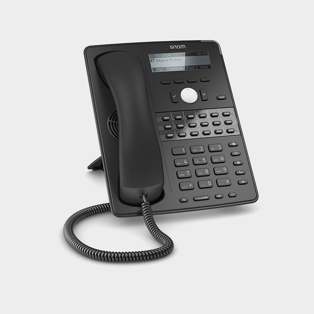 Snom D725 - 12 Line Professional IP Phone