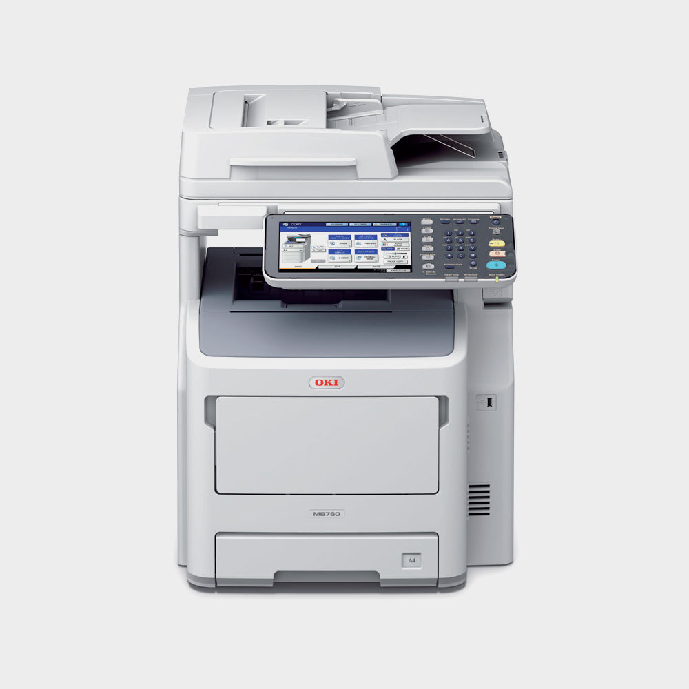 OKI MB760dn A4 Mono Multifunction Printer