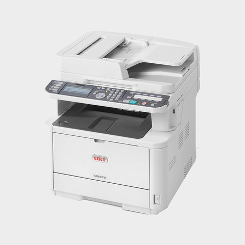 OKI MB472dnw A4 Mono Multifunction Printer