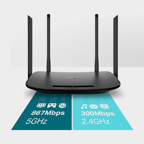 TP-Link Archer VR300 - AC1200 Wireless VDSL/ADSL Modem Router