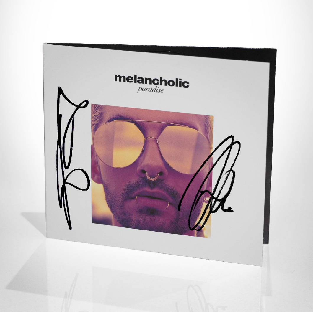 Signed 2-CD Digipak 'MP' & 'WIRIP'