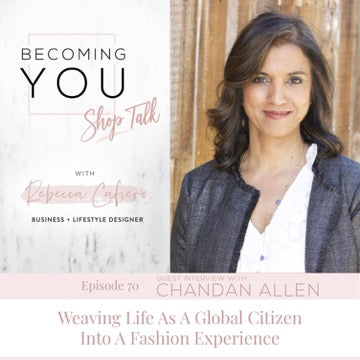 Becoming You | Shop Talk